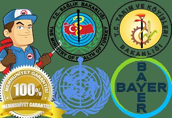 ilaçlama sertifikaları